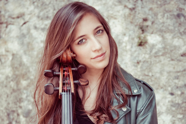 Cellist Camille Thomas will play with the Slovak Philharmonics