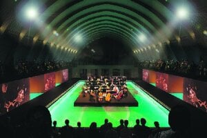 A former indoor swimming pool has been turned into the Kunsthalle.