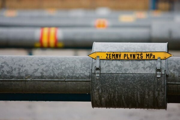 Slovakia is building more natural gas pipelines.