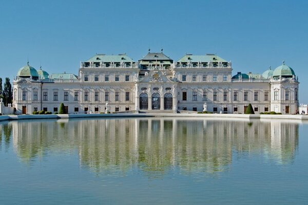 The Upper Belvedere Palace in Vienna