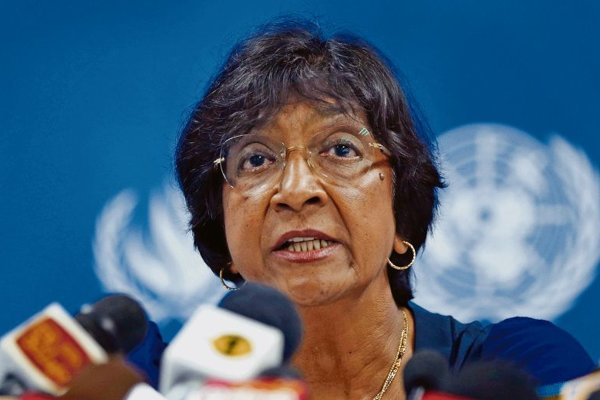 UNHigh Commissioner for Human Rights Navi Pillay