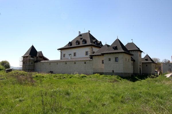 Water castle in Hronsek.