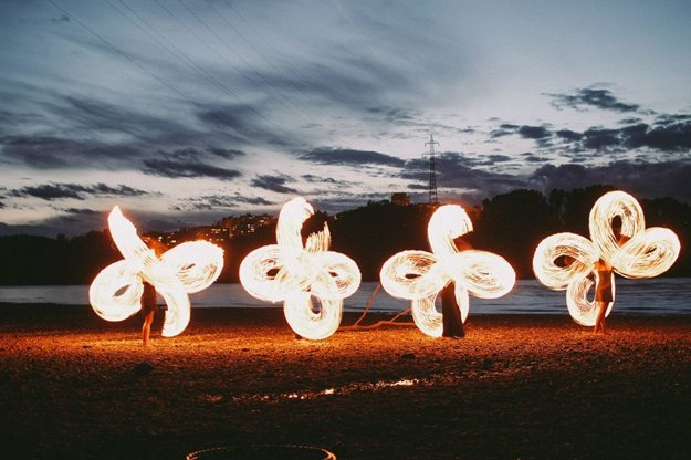 Tango on Fire