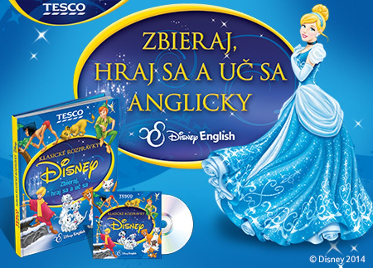 Tesco helps children learn English with Disney fairy tales