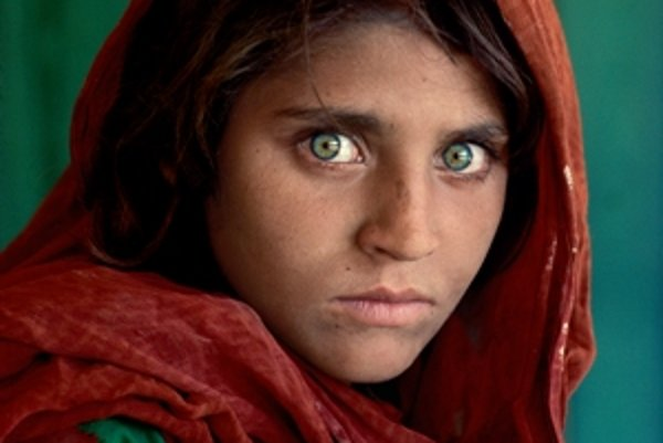 Afghani Girl from Pakistani Refugee Camp, Steve McCurry