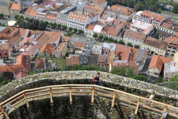 View form the Trenčín Castle