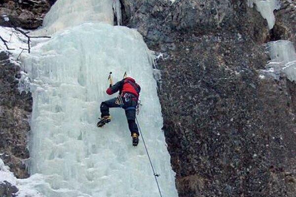 Frozen waterfalls offer adventure in Slovenský raj