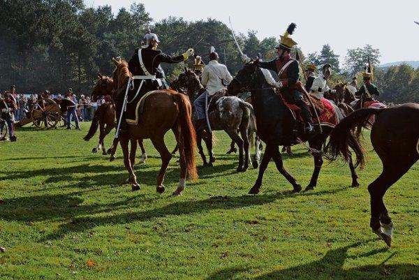 Re-enactment of the last battle of the Prussian-Austrian war, near Bratislava.