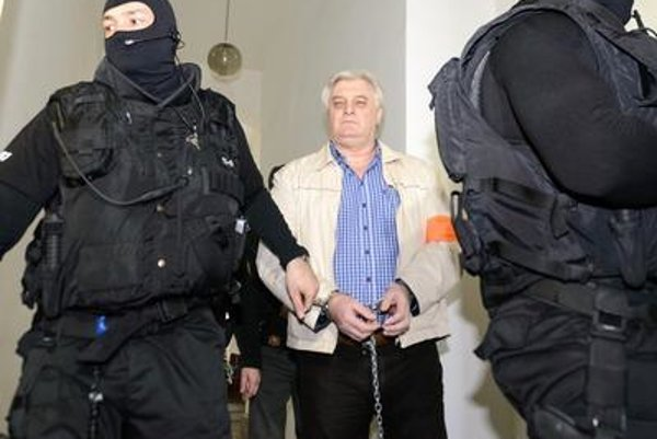 Viliam Mišenka at court.