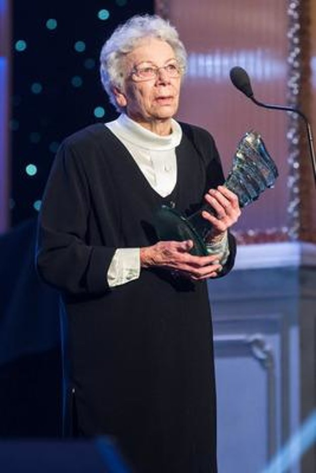 Dorota Pospíšilová won the Cristal Wing award in January 2015