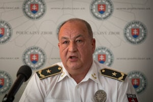 Police Corps vice-president Ľubomír Ábel.
