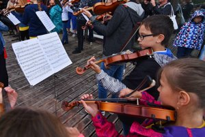 The third year of the children's violin orchestra in the High Tatras
