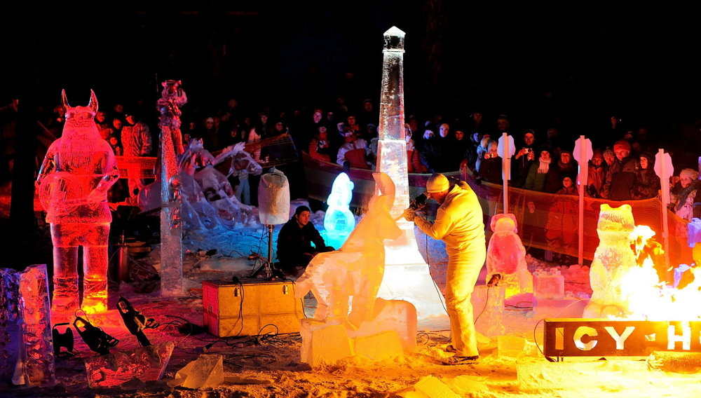Winter resorts offer various entertainment and evening programmes.