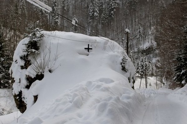 Slovak mountians have their fatal avalanches, too. Illustartive stock photo