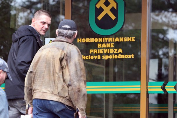 SE is the main client of the Hornonitrianske Bane mine.