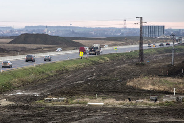 Triblavina junction is to be part of Bratislava ring road.