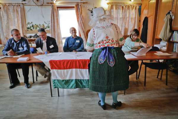 A picture from the village of Veresegyhaz, Hungary.