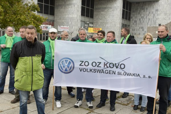 Trade unions at Volkswagen are no longer members of OZ KOVO.