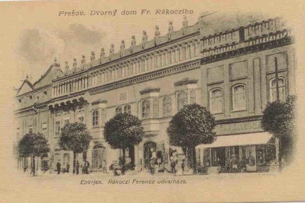 The Rákóczi House in Prešov