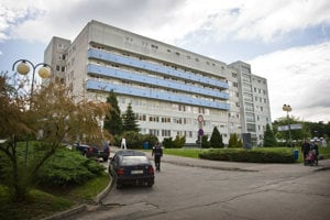 The hospital in Nitra