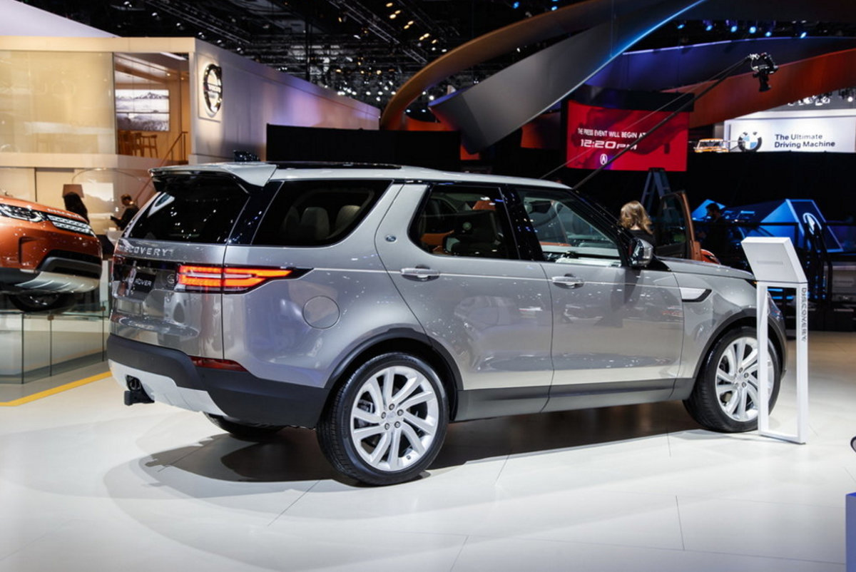 Nice (Source: Jaguar Land Rover Discovery)