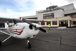 The Poprad-Tatry airport