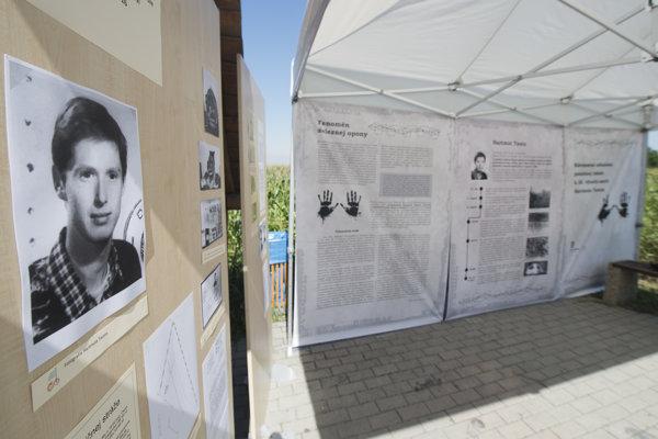 The Hartmut Tautz memorial in Slovakia