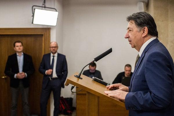 Opposition MP Ján Budaj
