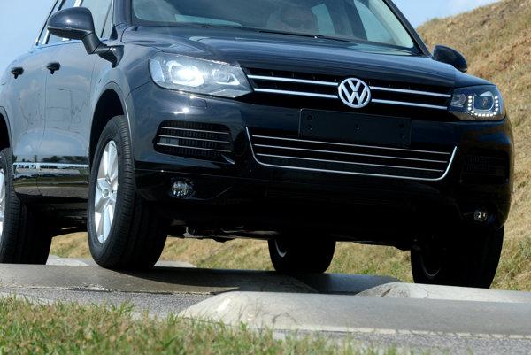 VW Touareg, illustrative stock photo