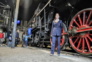 The steam engine 475.196 dubbed Her Ladyship