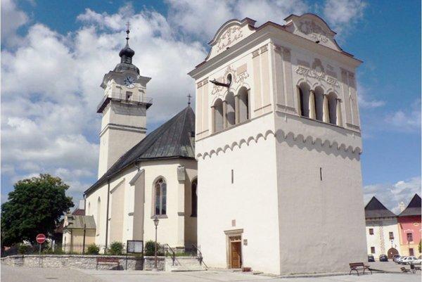 St Geirge Curch in Spišská Sobota