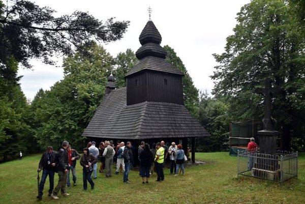 Wooden church in Ruská Bystrá