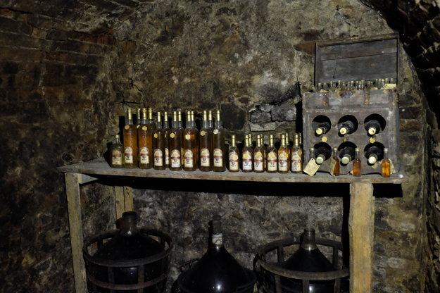 Tomka mead cellar