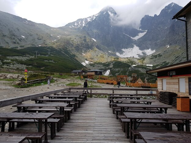 Venue of the Tatras Flowers festival