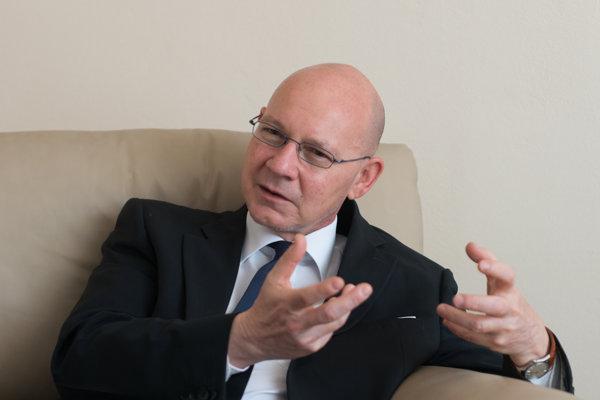 Italian Ambassador to Slovakia Gabriele Meucci