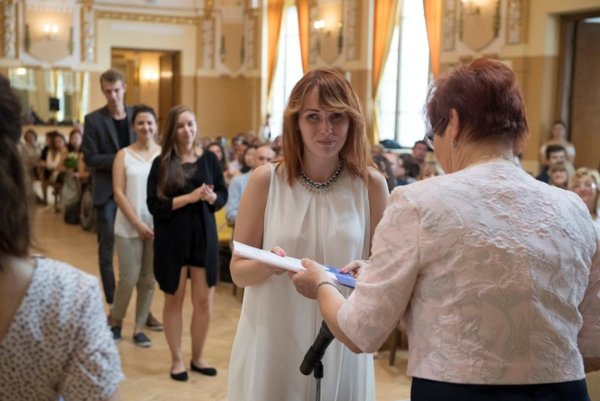 Participants of the Studia Academica Slovaca programme 2017 received their certificates on August 25.