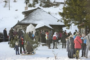 Hundreds of people attended on Epiphany