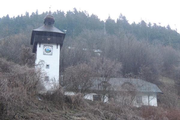 The klopačka tower in Hodruša-Hámre