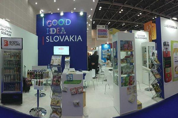 Slovak food producers exhibit at GULFOOD DUBAI