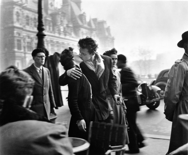 Robert Doisneau: Los amantes del Hôtel de Ville, 1950