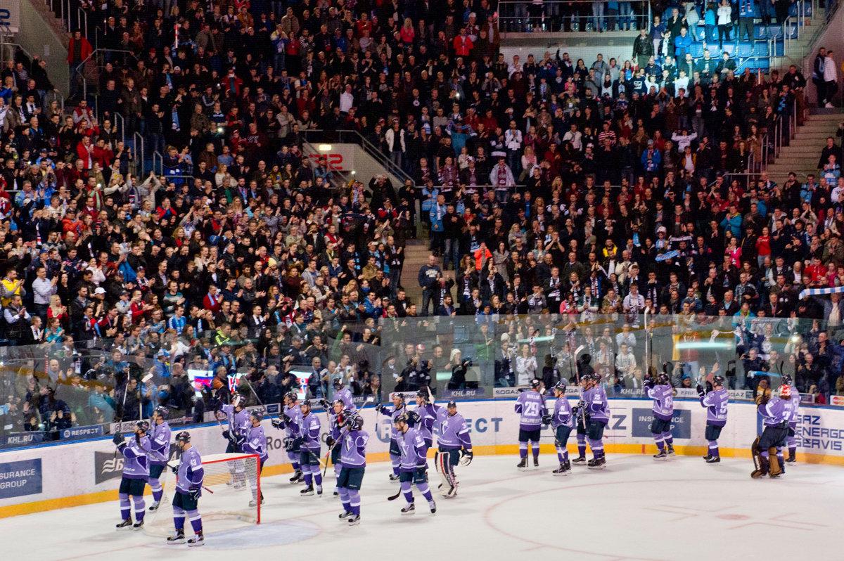 KHL: Slovan Advances To Russian League Playoffs