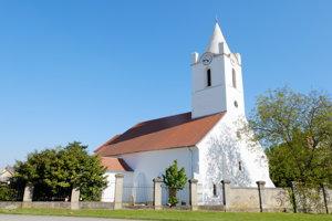 Romanesque church in Šamorín