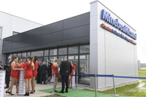 Opening of the Košice-based MinebeaMitsumi plant, June 15 2018.