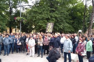 June 22 protest in Kosice