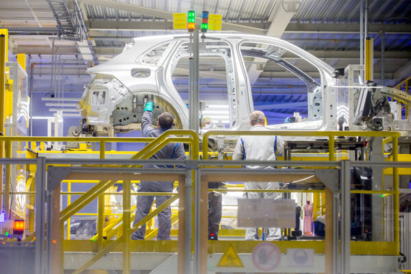 Volkswagen Slovakia exports every fifth car it produces to America.