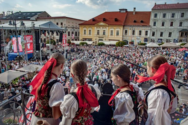 The first Slovak Day of Folk Costume was part of the Radvaň annual fair in Banská Bystrica, September 8.