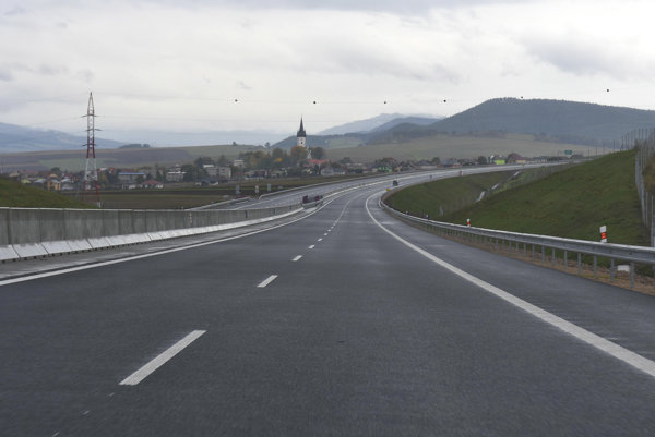 Highways in Slovakia are financed also from EU funds.