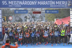 Start of International Peace Marathon (MMM) Košice, 2018 edition, October 7.