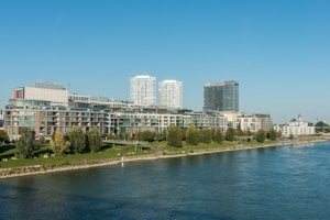 Bratislava has attracted $0.25 billion of cross border capital.