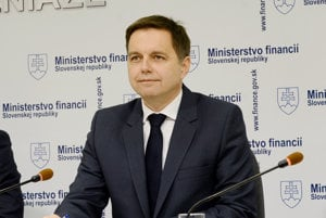 Finance Minister Peter Kažimír